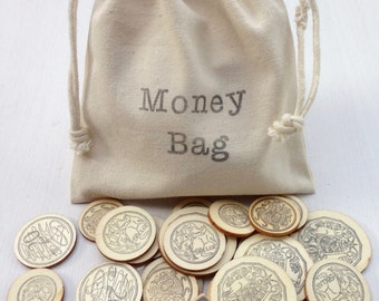 Money Bag - Australian Money Dice Game