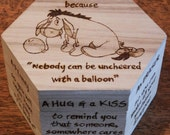 Eeyore's Anti-Depression Kit pyrography box