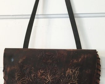 Muddy Floral Shoulder Bag