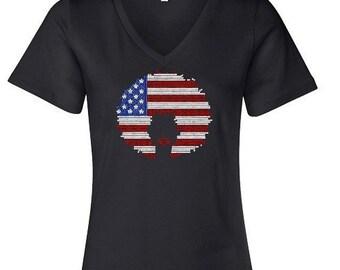 Afro USA Flag