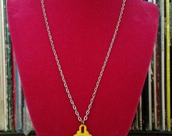 Aaargh Yellow Monster Necklace