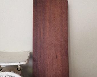 Baguette Cutting Board - Walnut Serving Board - Cheese Board - Reclaimed Wood