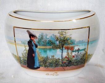 Goebel Artis Orbis Germany Carl Larsson Late Summer Limited Edition Vase