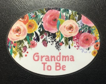 Baby Shower, Grandma To Be, Mommy To Be, Aunt, Cousin, Great Grandma, Baby Shower Gift, Party, Mom, Mother To Be, Buttons - Pins