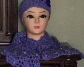 Headband and Scarf Crochet Set