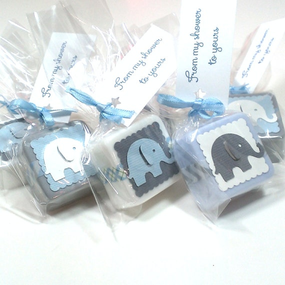 baby shower favors boy elephant baby shower favors by lalalipsie