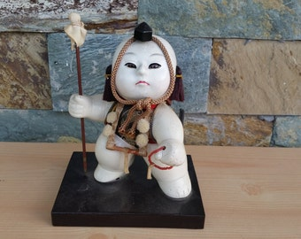Vintage Samurai Gosho Ningyo Doll