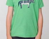Kids T-shirts - Zebra Shirt - Kids Tshirts, Kids Clothing, gift for kids, kids tees, gift for nephew, boy gifts, boy girl party, kid tee