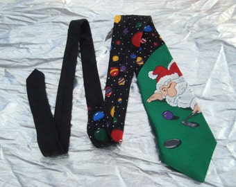 Vintage Mens Santa Clause Speecialties Hallmark Vintage Santa Tie