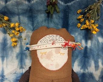 Flower bud Wildflower doll