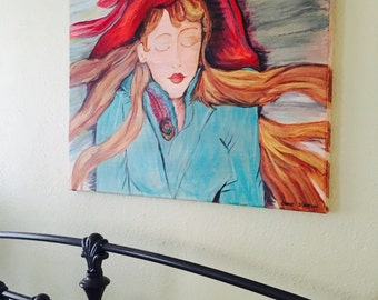The French Lady original painting