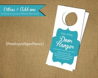 Door Hangers Design custom door hanger   etsy