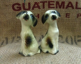 Adorable Pup Salt and Pepper Shakers