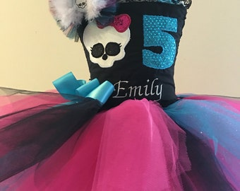 Personalized Monster High Tutu Dress