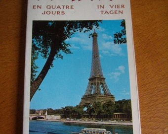 Paris, Tour Guide, City/Metro map, Paris in 4 days, French and German