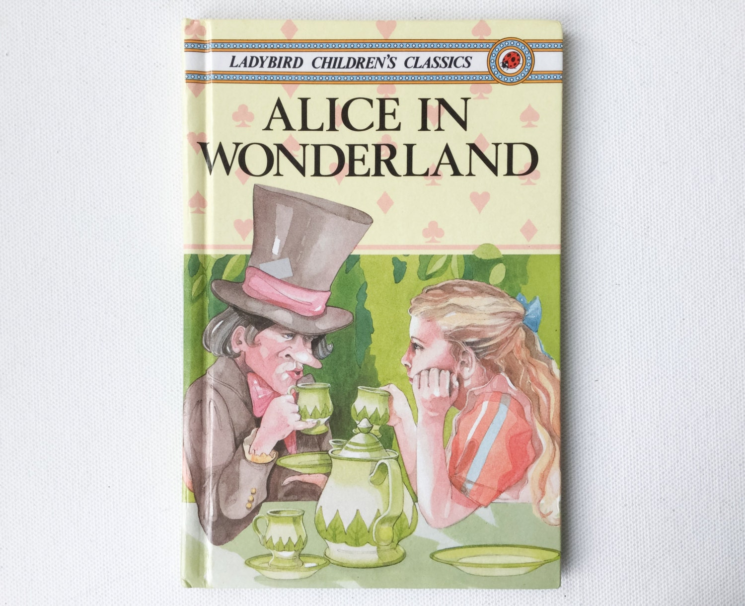 Vintage alice wonderland book