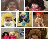Made to Order Cabbage Patch Kid Wig Hats for All Ages! ( Current 1-3 Day Processing Time)