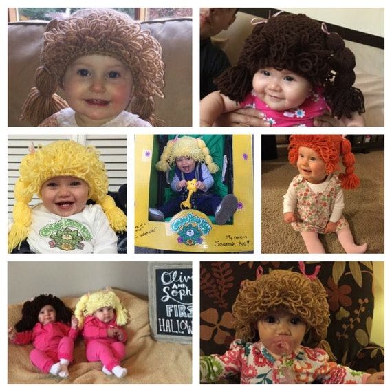 Made to Order Cabbage Patch Kid Hats for All Ages! ( Current 1-3 Day Processing Time)