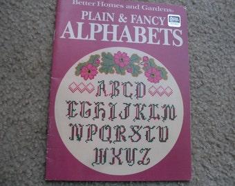 Collectible 1st Edition Plain & Fancy Alphabets