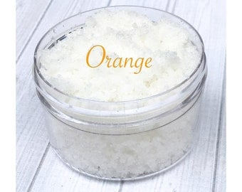 Orange Sugar Lip Scrub, lip scrub, sugar scrub, exfoliate, orange