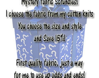 Cotton Knits - Mystery Print Scrundies - Save 15%!