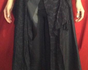 Black Shag Skirt