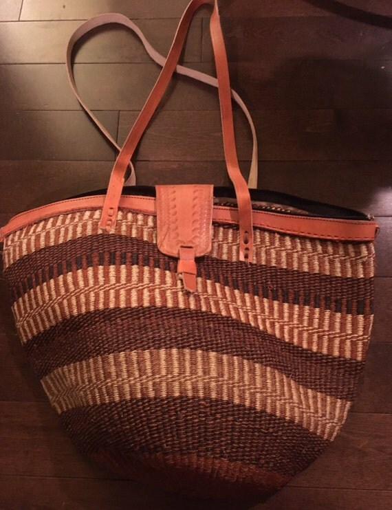 Kenyan Handmade Baskets : Items similar to african handmade basket kenya kiondo