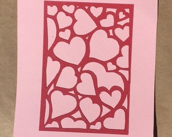 Hearts! Valentine's Day Card