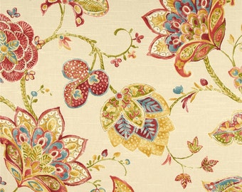 RICHLOOM Jubilant Blossom Designer Drapes,  (SOLD in PAIRS)