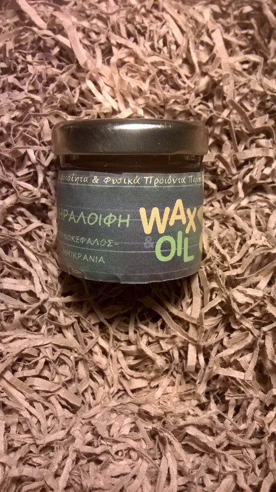 Headaches-migraines beeswax ointment