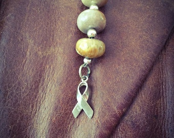 Cancer Necklace with Stones