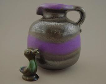 Vintage vase (jug) / Carstens Atelier Kiel | West Germany | WGP | 70s