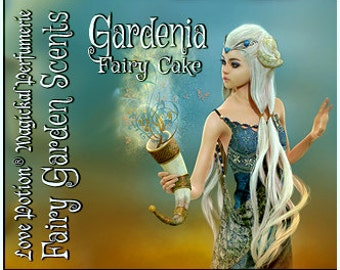 Fairy Cake: Gardenia - Sweet & Youthful Layerable Perfume - Love Potion Magickal Perfumerie