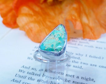 Cripple Creek Turquoise Ring