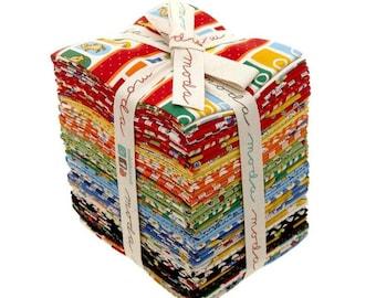 Ducks in a Row 33 piece Fat Quarter Bundle  by American Jane for Moda - 21650AB