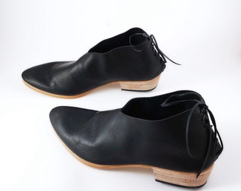 The Griffin BVT ~ 3cm Heel~ Handmade Womens Leather Shoes