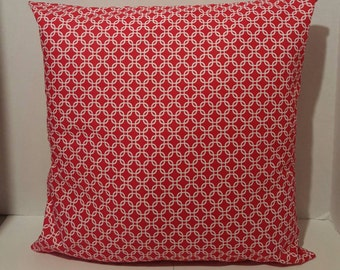 12 x 12 Decorative Red Pillow Cover