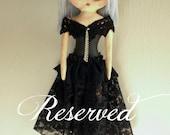 Handmade Neo-Victorian Goth Doll