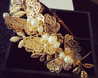 Baroque Style Headband