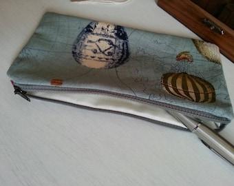 Zipped pouch / pencil case