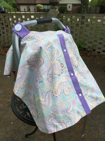 paisley car seat cover by jeanniekatdesigns on etsy. Black Bedroom Furniture Sets. Home Design Ideas