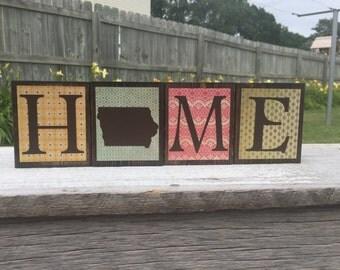Home Decor Wood Blocks