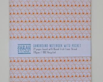 A6 Handbound Pattern Notebook