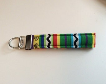 Key Fob / Key Chain / Wristlet / Bright Colors