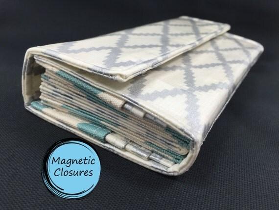 envelope wallet for cash envelope system premium metallic