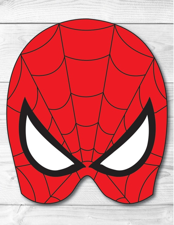 Accomplished image for spiderman mask printable