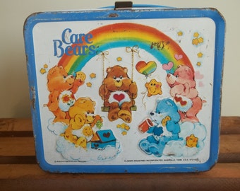 Vintage Care Bears Lunch Box