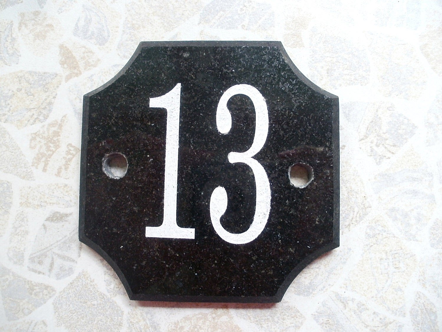 Custom House Numbers Sign Address Plaque Personalized