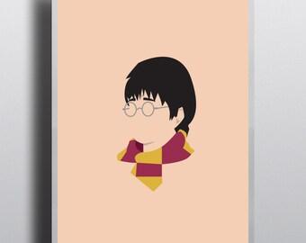 Minimalist Harry Potter Print