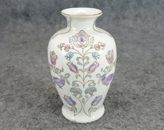 Vintage Porcelain Vase Hand-Painted